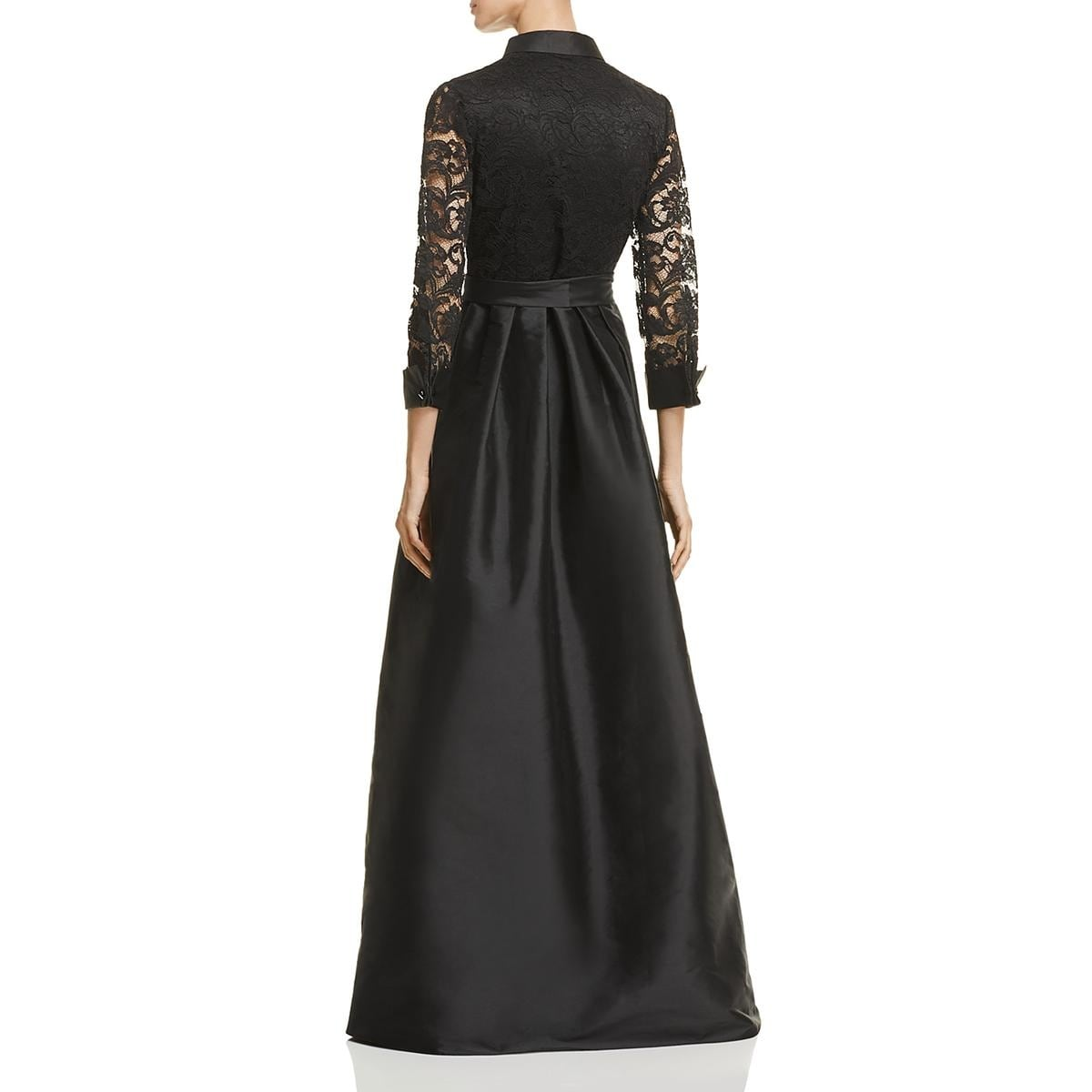 Shop Adrianna Papell Womens Evening Dress Lace Ball Gown - Free ...