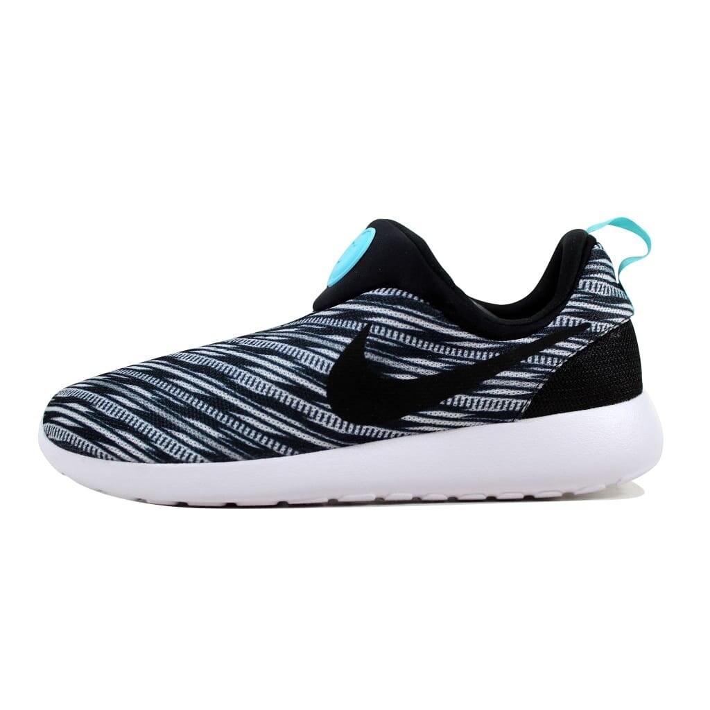 a4a19612c497b Shop Nike Men s Rosherun Slip On GPX White Black 644433-100 - Free Shipping  Today - Overstock - 22340400
