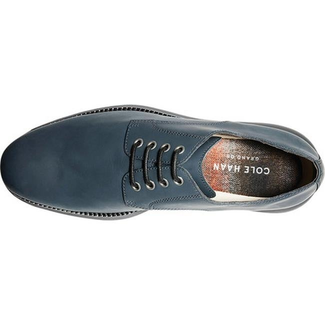 c01f02ff05 Shop Cole Haan Men's Original Grand Plain Toe Oxford Blueberry/Magnet  Leather - Free Shipping Today - Overstock - 25577780