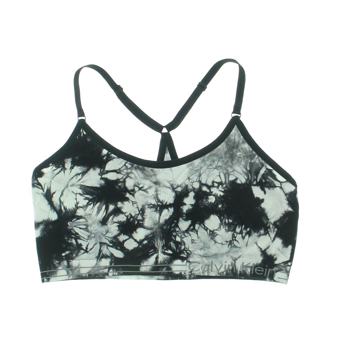 096f50d862 Shop Calvin Klein Performance Womens Sports Bra Tie-Dye Low-Impact - Free  Shipping On Orders Over  45 - Overstock - 17355428