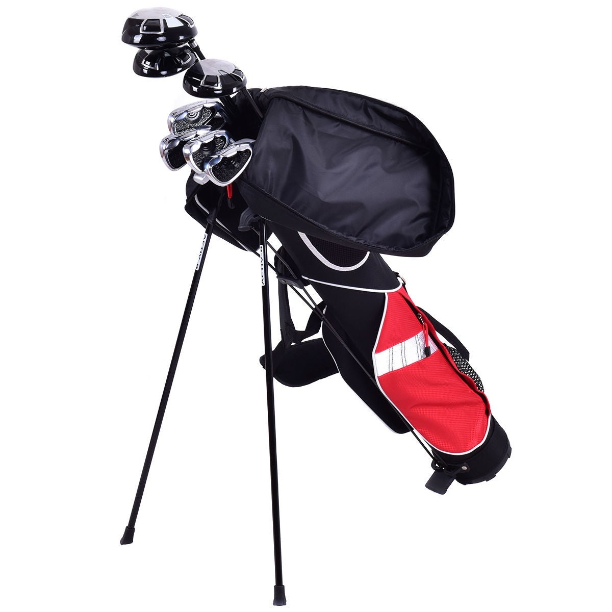 5 Sunday Golf Bag Stand 7 Clubs Carry Pockets Travel Storage Lightweight As Pic On Free Shipping Today 16680230