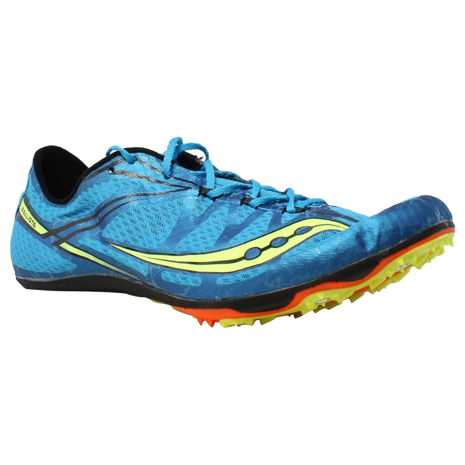 Shop Saucony Mens Ballista Blue Citron Track Cleats Size 13 - On ... f60532a43