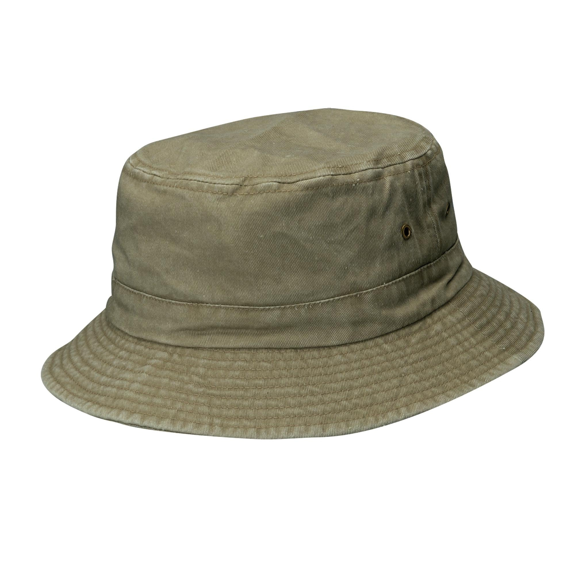 8309f9d4287 Shop Dorfman Pacific Cotton Big and Tall Summer Bucket Hat 2XL 3XL - Free  Shipping On Orders Over  45 - Overstock - 14278362
