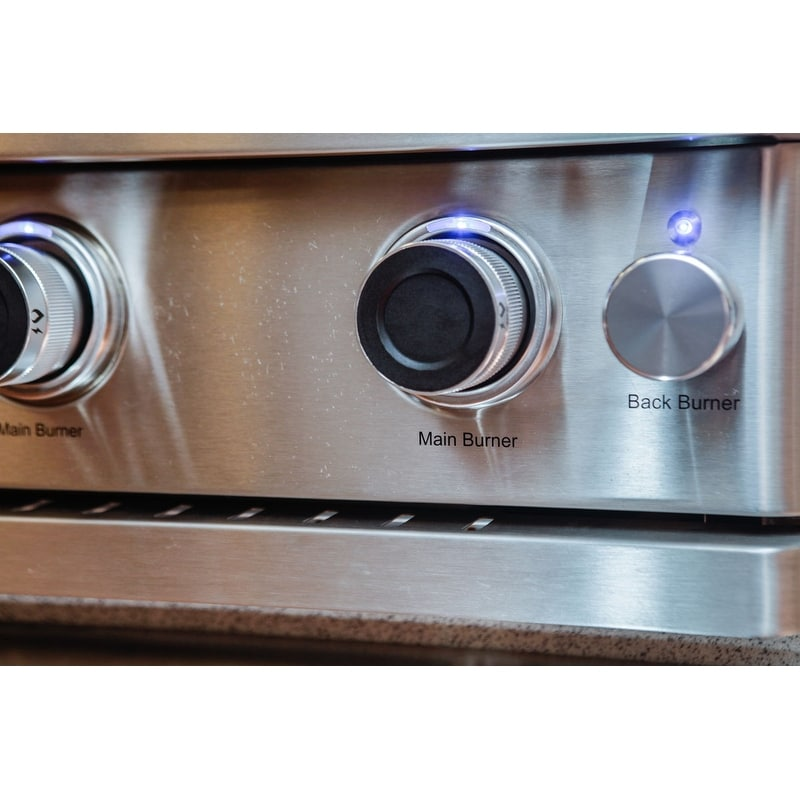 Barbeques Galore Turbo Elite 3 Burner Built In Gas Grill Free Shipping Today 14725357