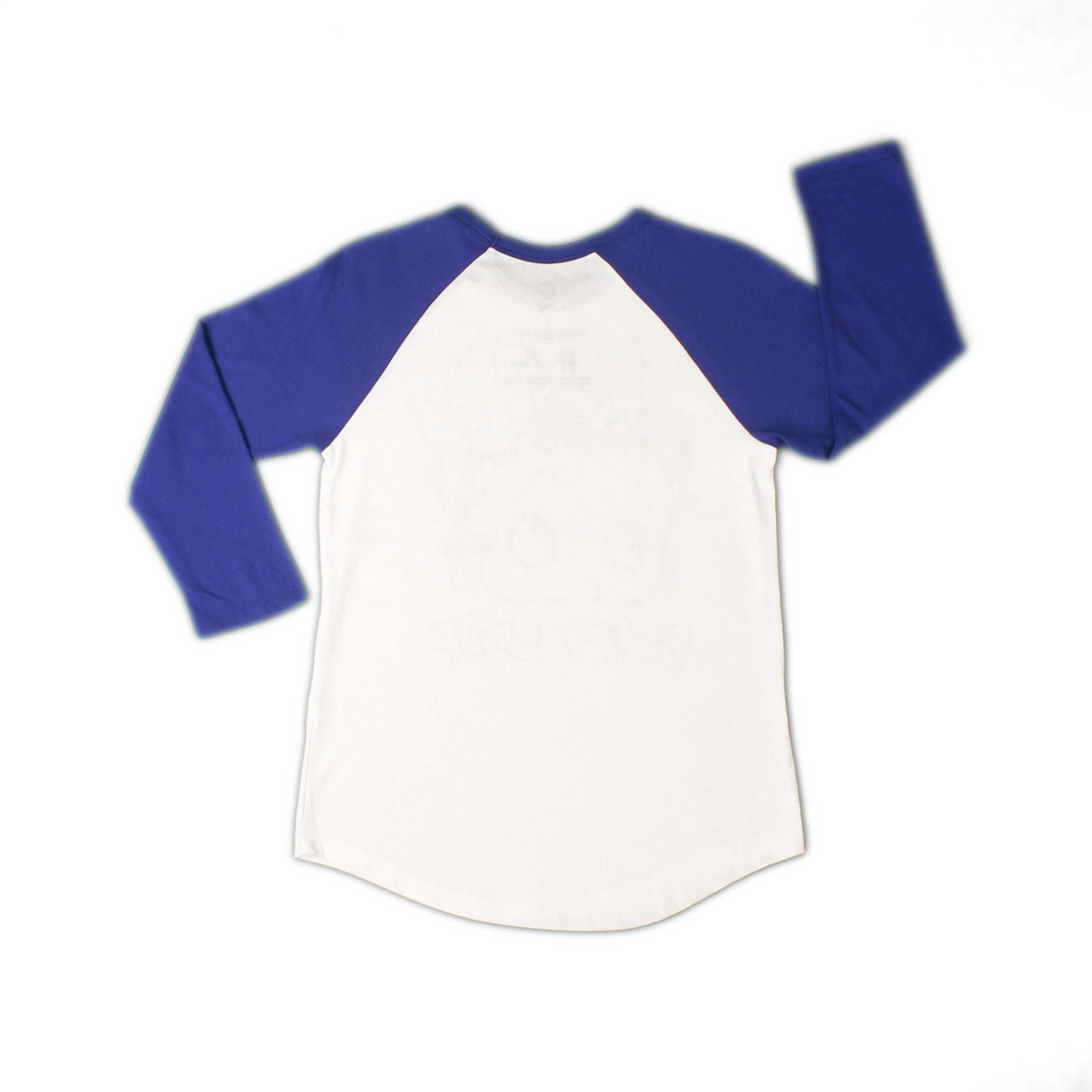 061c4cda Shop Betty Boop With Velvet Anchors Bow White Baseball Tee - Free Shipping  On Orders Over $45 - Overstock - 19759859