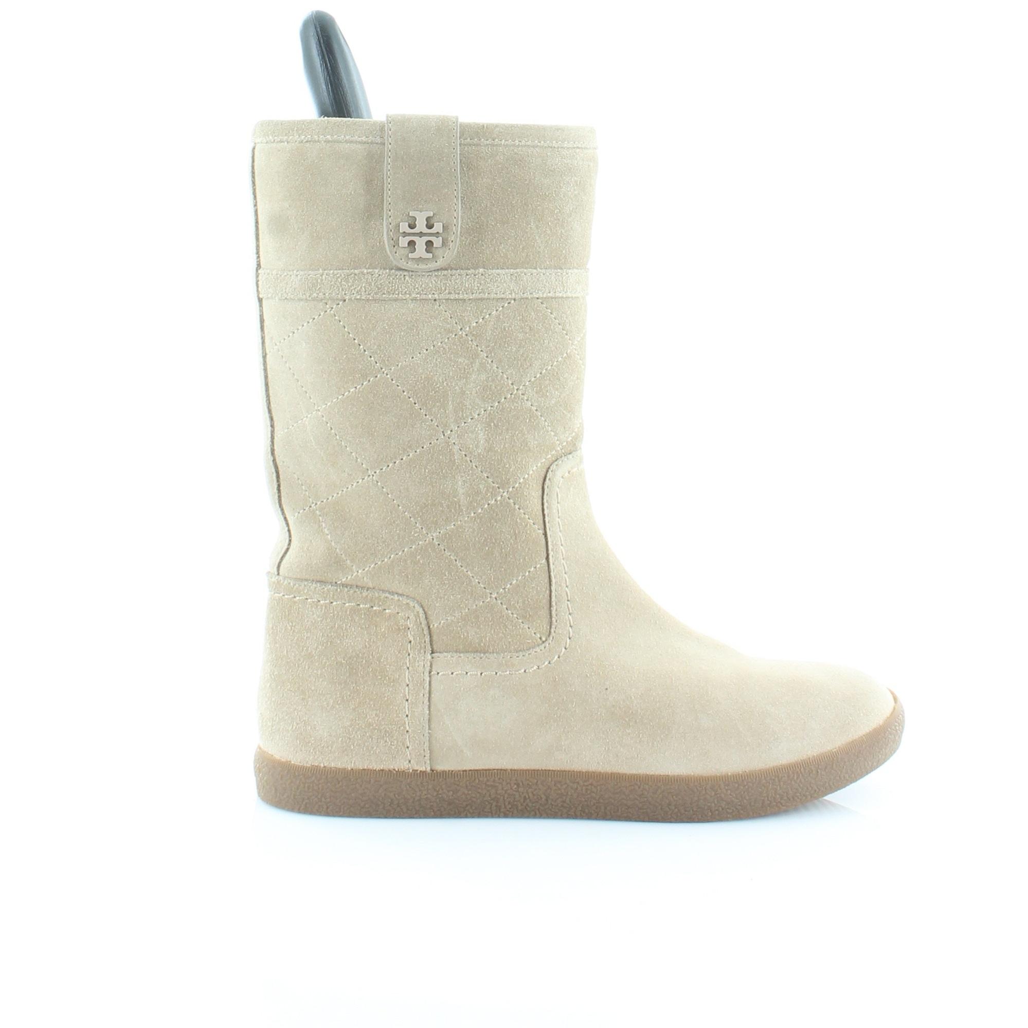 c318ec6e9a11a Shop Tory Burch Alana Women s Boots Light Natural - Free Shipping Today -  Overstock - 21550369