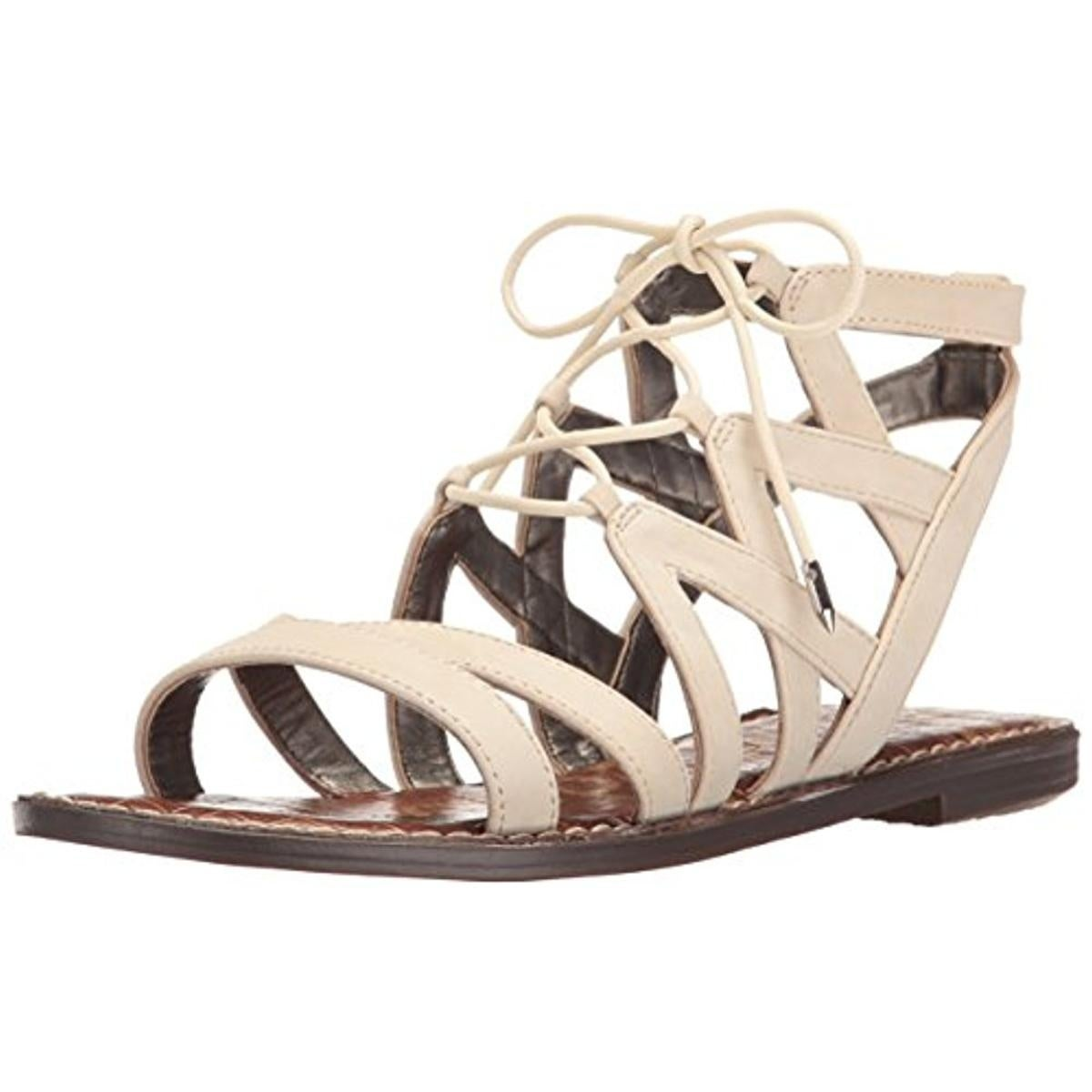7a8c58d5b4f Shop Sam Edelman Womens Gemma Gladiator Sandals Criss-Cross Front Lace Up -  Free Shipping On Orders Over  45 - Overstock - 13555618