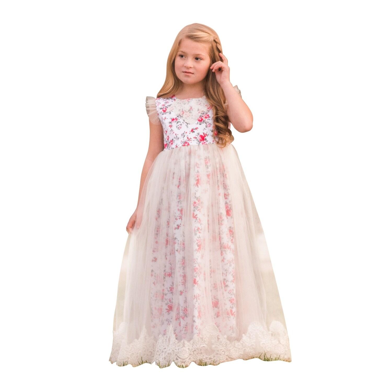 21b36a30c White Red Flower Girl Dresses - raveitsafe