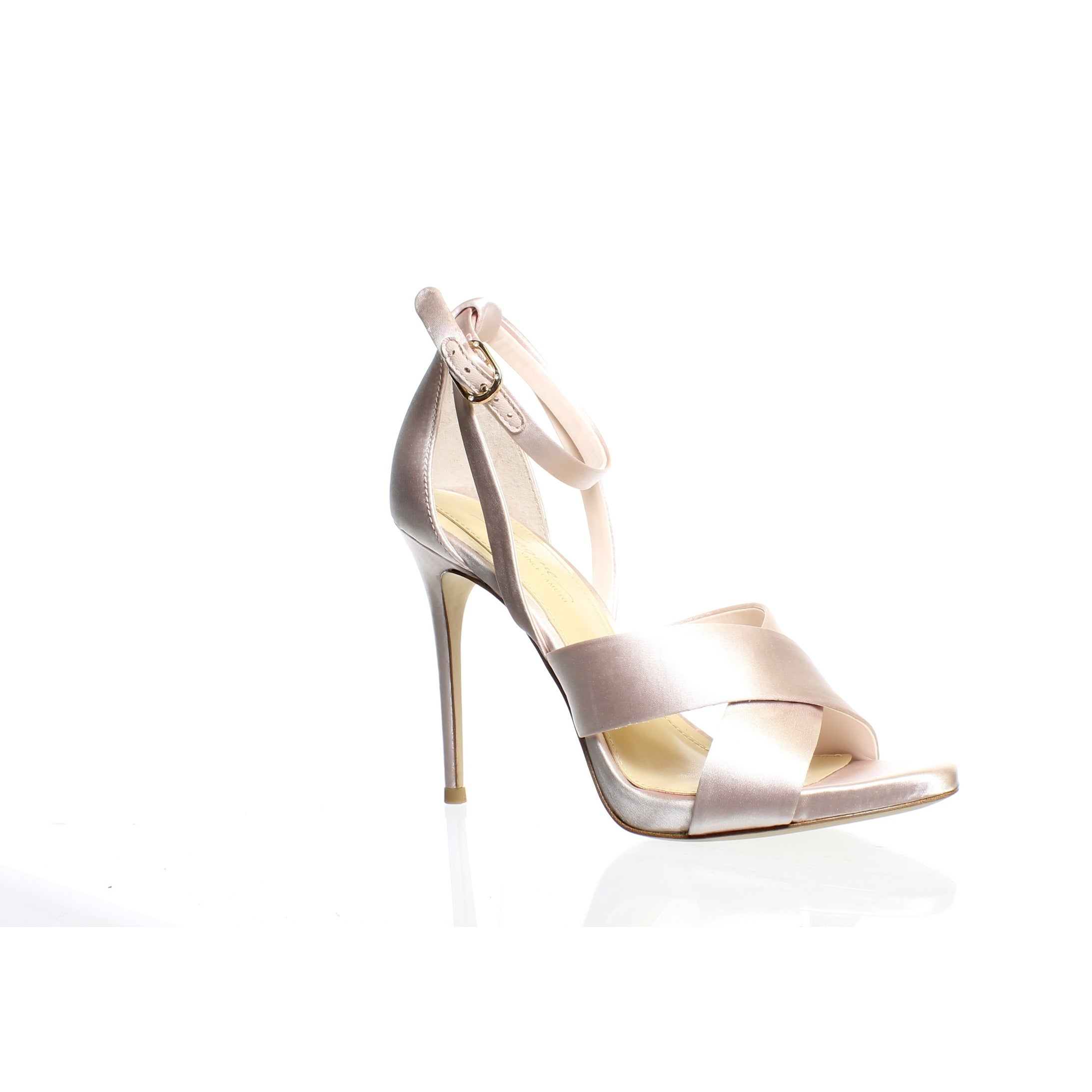 419caec9f9d Imagine by Vince Camuto Womens Dairren Petal Pink Ankle Strap Heels Size 6