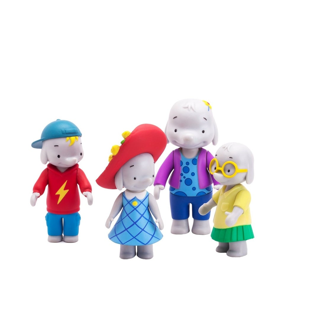 fc6baa6bb4f047 Shop Ella the Elephant Action Figure 4-Pack Ella and Friends - Free  Shipping On Orders Over  45 - Overstock - 13673203