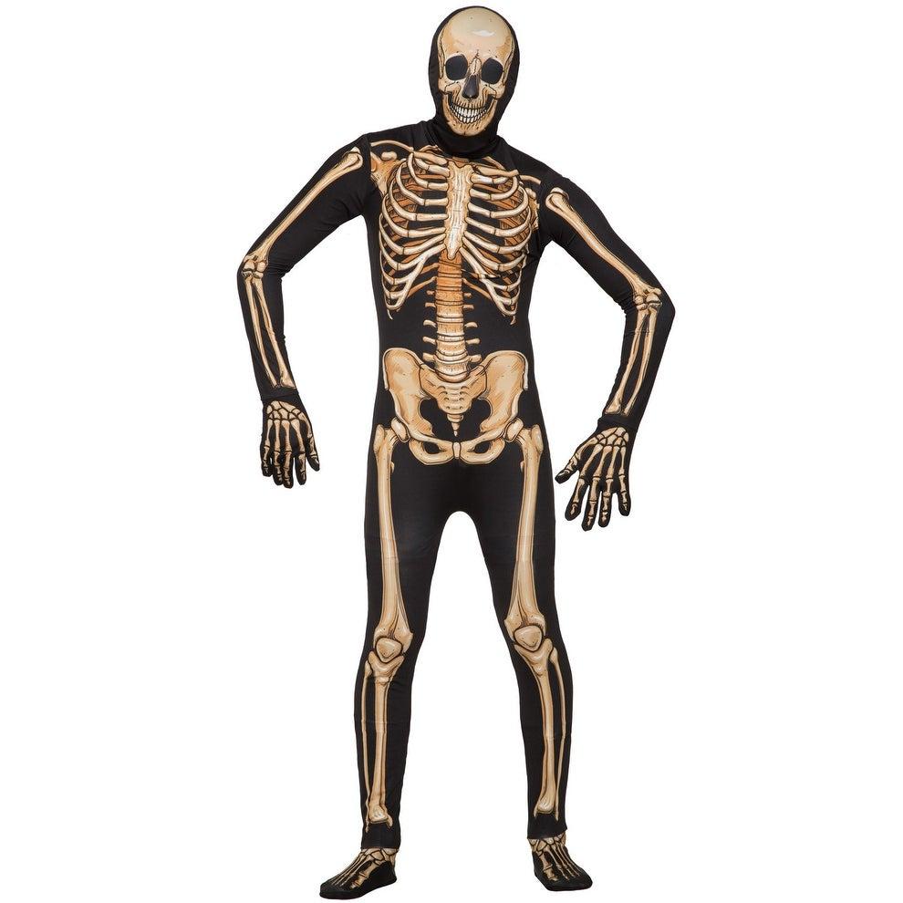 Shop Forum Novelties Skeleton Skin Suit Adult Costume (Standard ...