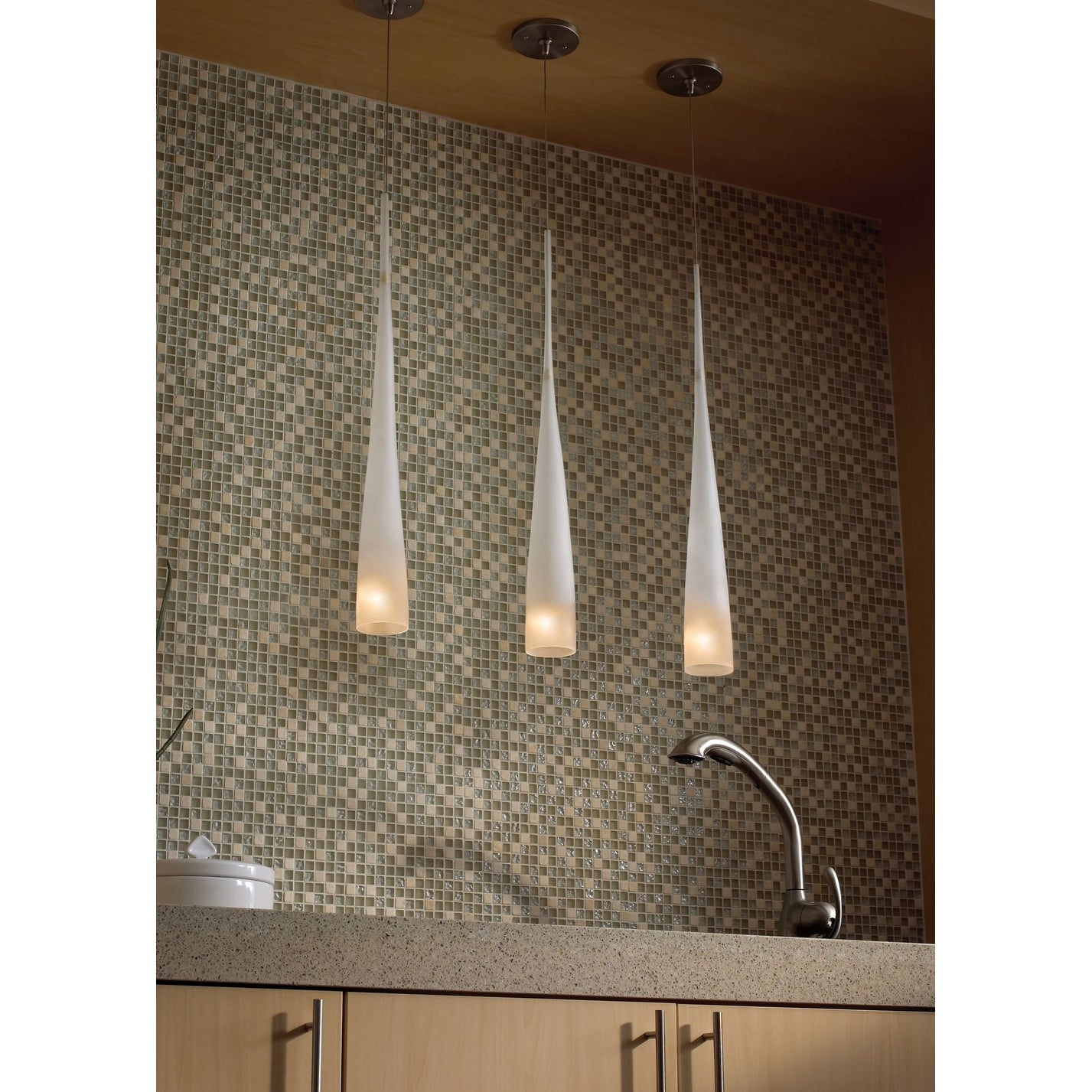Tech Lighting 700mpcypla Cypree 27 Tall 1 Light Monopoint Pendant With Amber Gl N A Free Shipping Today 26045202