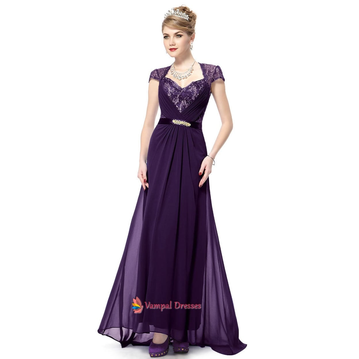 6bb57407f8 Mother Of The Bride Dresses Lace Cap Sleeves