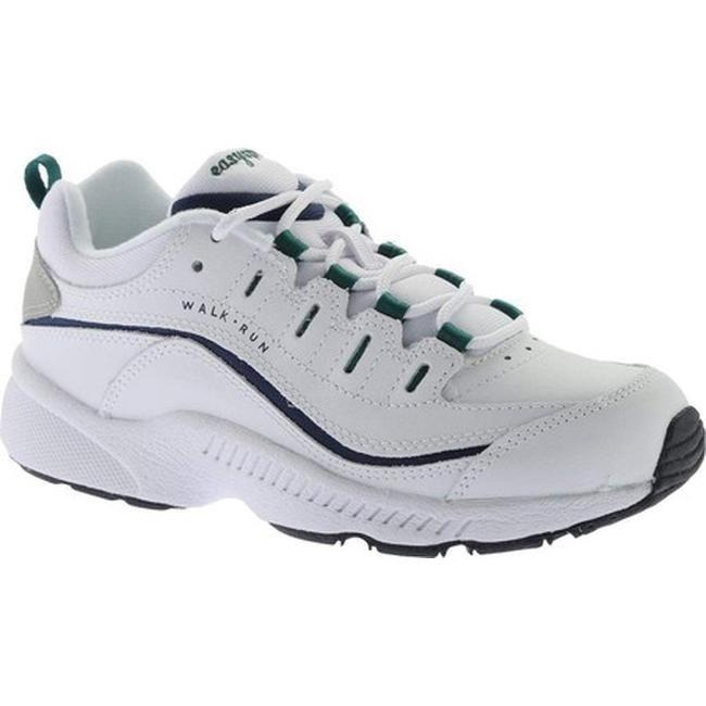 f968b5977fb Shop Easy Spirit Women s Romy Walking Shoe White Multi Leather - On ...