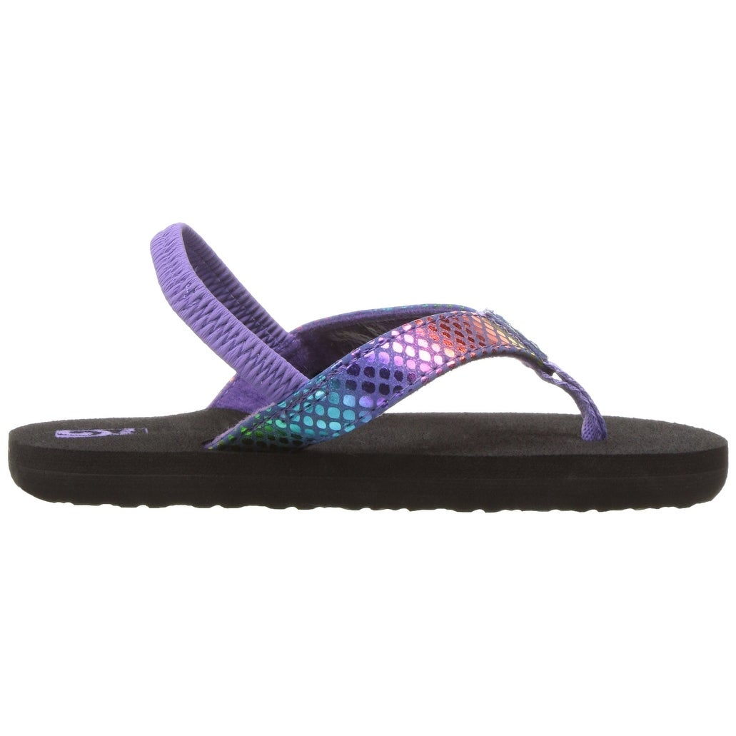53e9d33a24c3 Shop Kids Teva Girls Mush II Bungee Thong Flip Flops - Free Shipping On  Orders Over  45 - Overstock - 26639920