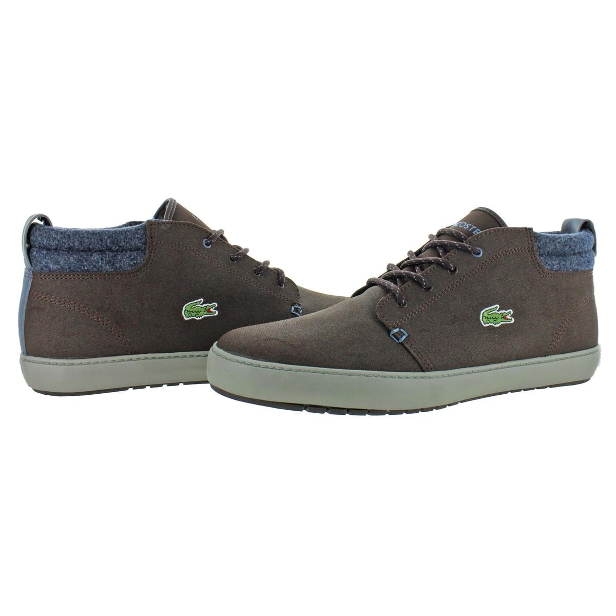 7b462b92d Shop Lacoste Mens AMpthill Terra 417 Chukka Leather Ortholite - Free  Shipping Today - Overstock - 28086610