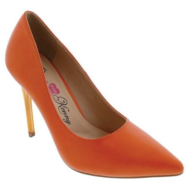 02d8102ade20 Shop Penny Loves Kenny Women s Opus GL Pump Orange PU - On Sale ...