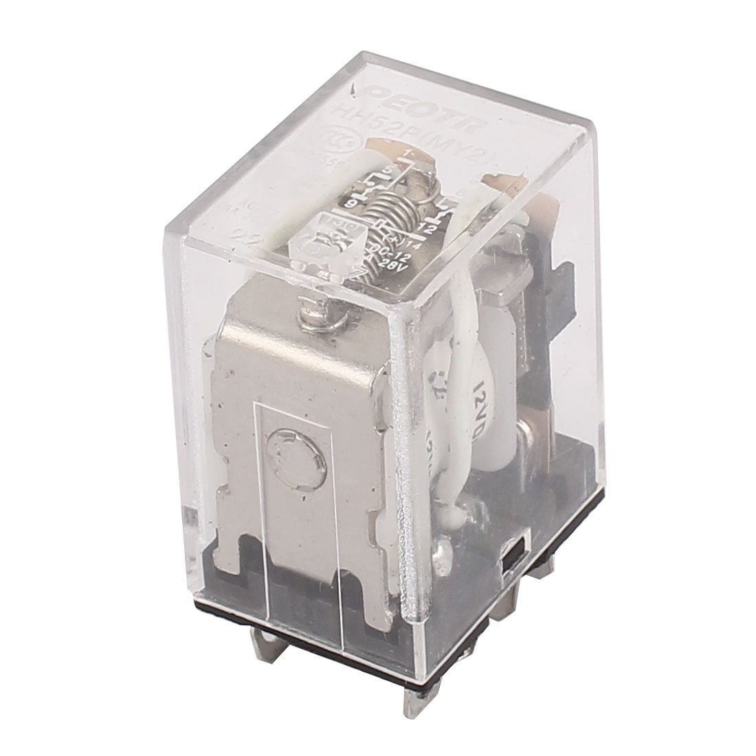 Shop Dc12v 5a Coil Voltage 8 Pin Terminal Dpdt Electromagnetic Power Relay Spdt 12v Free Shipping On Orders Over 45 18251044