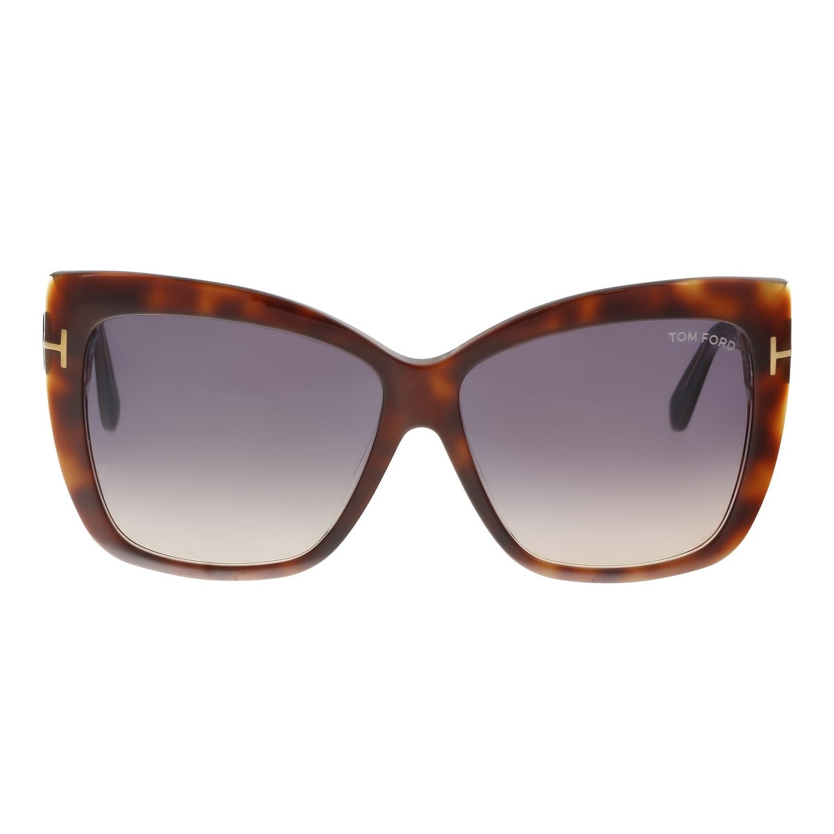 0f1577b1085a5 Shop Tom Ford FT0390 S 53F IRINA Medium Havana Oversized Cat Eye Sunglasses  - 59-13-140 - Free Shipping Today - Overstock - 19223290
