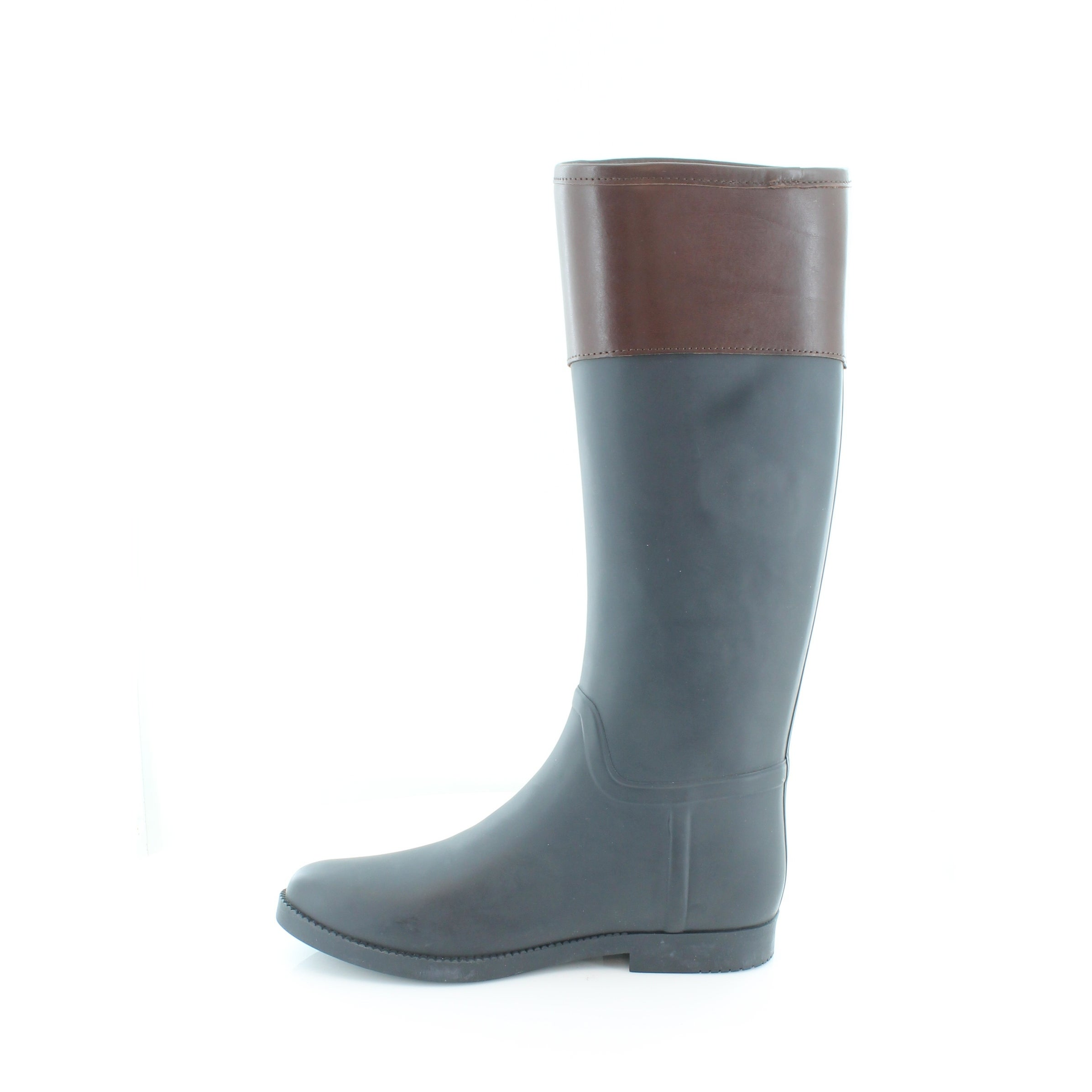 4917ce6240ff Shop Tory Burch Classic Rain Boot Women s Boots Navy   Almond - Free  Shipping Today - Overstock - 21554151