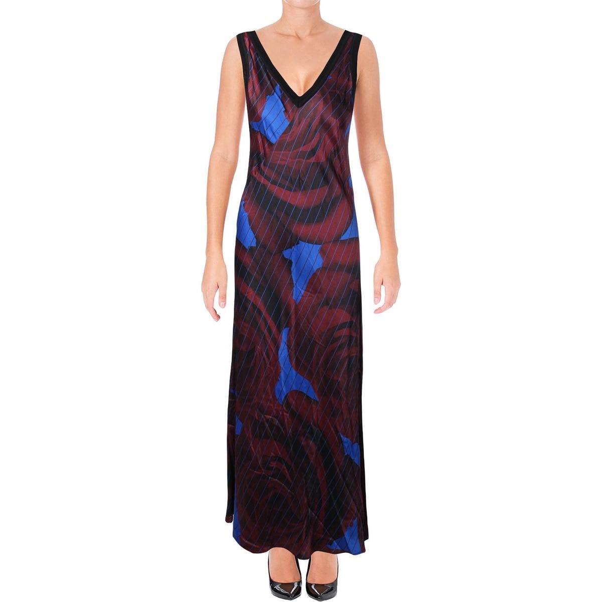 abd4f0ed7f Shop DKNY Womens Maxi Dress Merino Wool Striped - p - Free Shipping Today -  Overstock - 20599259