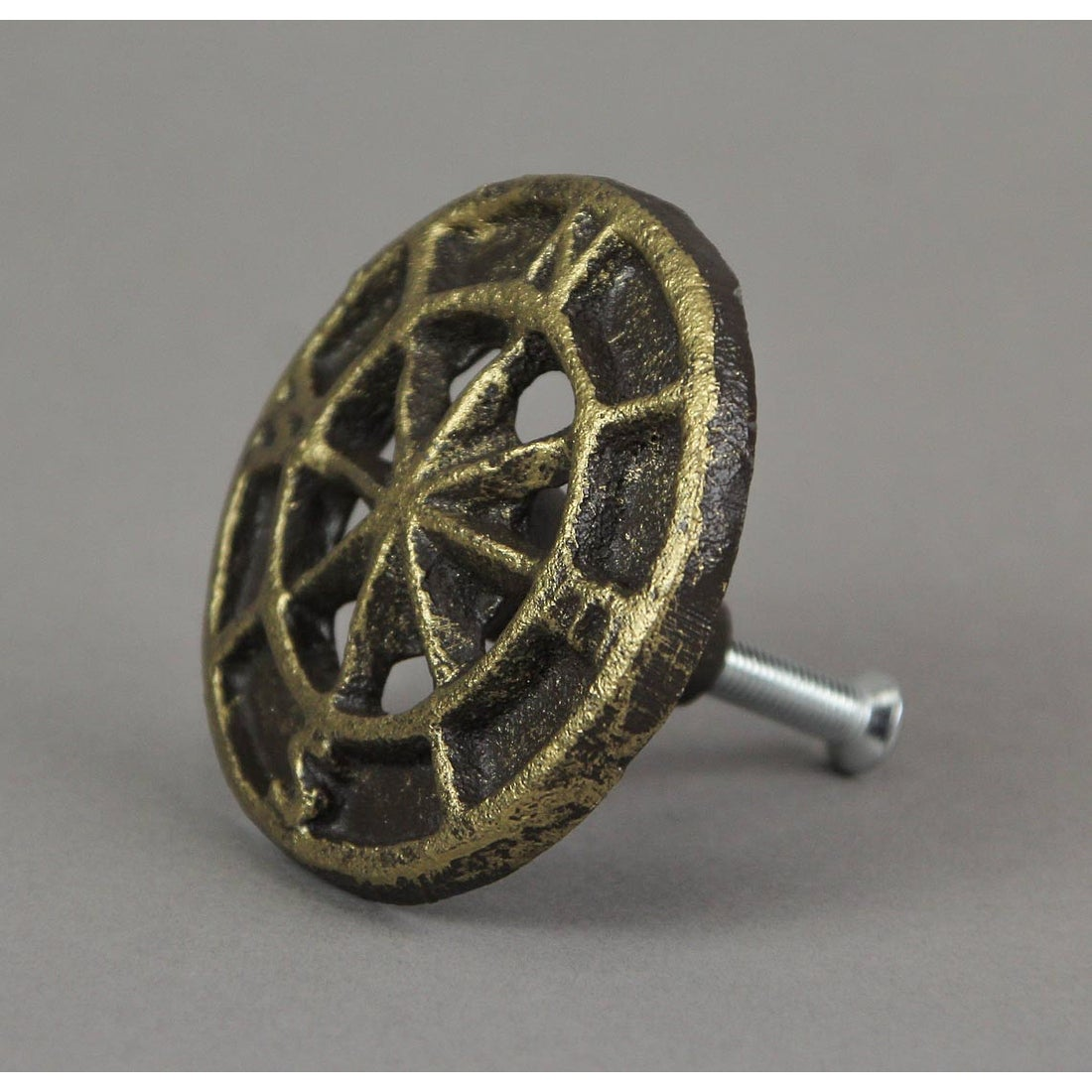 Set Of 12 Cast Iron Nautical Compass Rose Cabinet Hardware Knobs Drawer Pulls Overstock 31033526