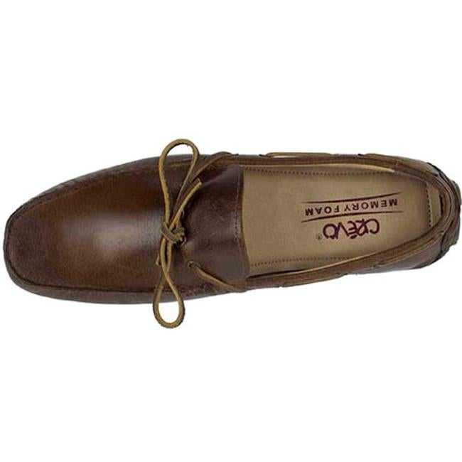 a25611b77439bf Shop Crevo Men's Kroozer Driving Moc Chestnut Brown Leather - On Sale -  Free Shipping Today - Overstock - 12028468