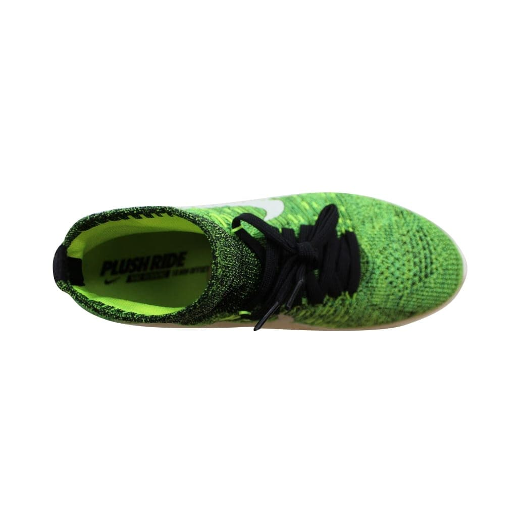 super popular a3385 06456 Shop Nike Men s Lunarepic Flyknit Black Black-Volt-Poison Green nan 818676- 002 - Free Shipping Today - Overstock - 22919214