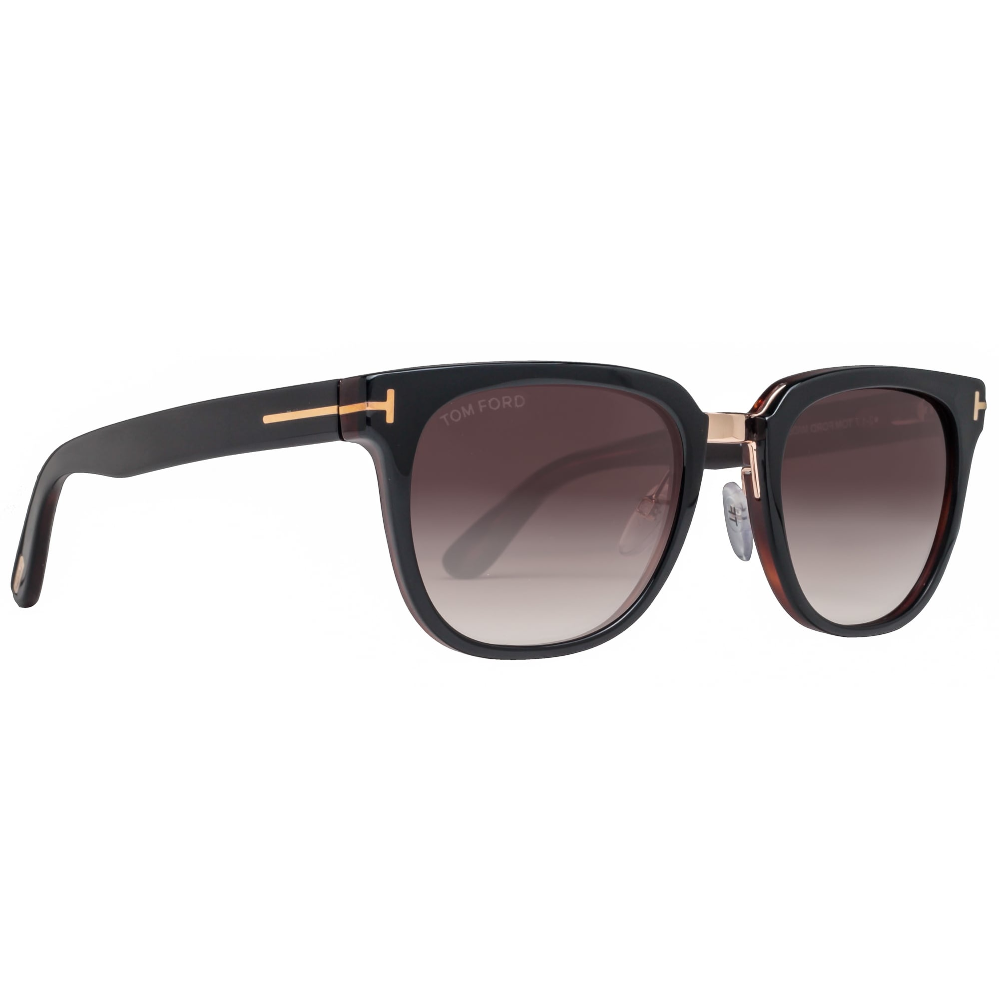 ed22fea9900 Shop Tom Ford Rock TF 290 01F 53mm Havana Brown Gradient Unisex Square  Sunglasses - dark havana brown - 53mm-20mm-145mm - Free Shipping Today -  Overstock - ...