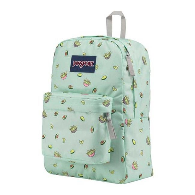 Shop JanSport Superbreak Backpack Avocado Party - US One Size (Size ... 645a6ff4b87d0