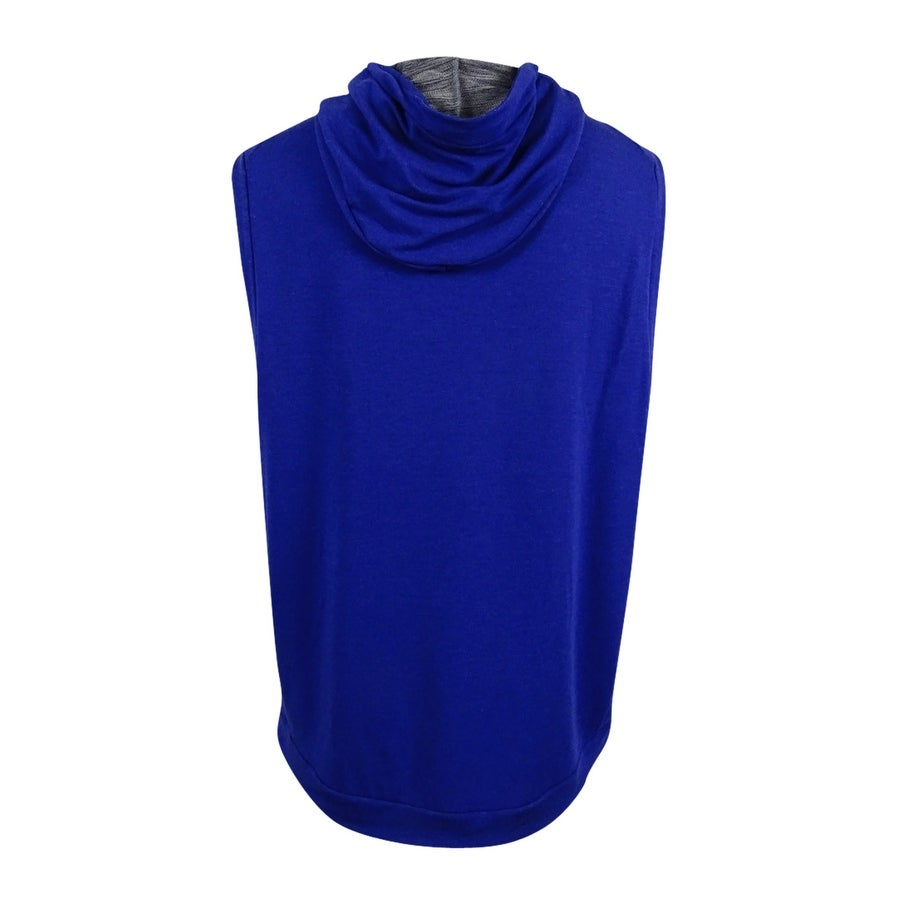 49c2affd Shop Nike Men's Dri-fit Sleeveless Hoodie (XXL, Deep Royal) - Deep Royal -  XxL - Free Shipping On Orders Over $45 - Overstock - 19268117