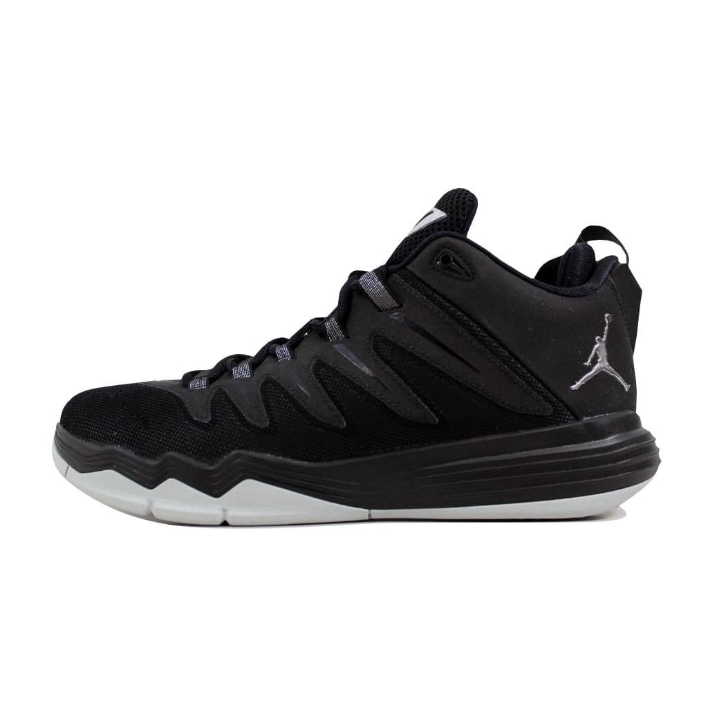 size 40 c02dc 1d459 Nike Men s Air Jordan CP3 IX 9 Black Metallic Silver-Anthracite Chris Paul  810868-010