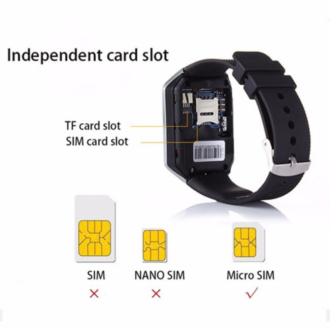 7db05a38c Shop Multifunctional Bluetooth Smart Watch for Android and iPhone - Free  Shipping On Orders Over  45 - Overstock - 19967143