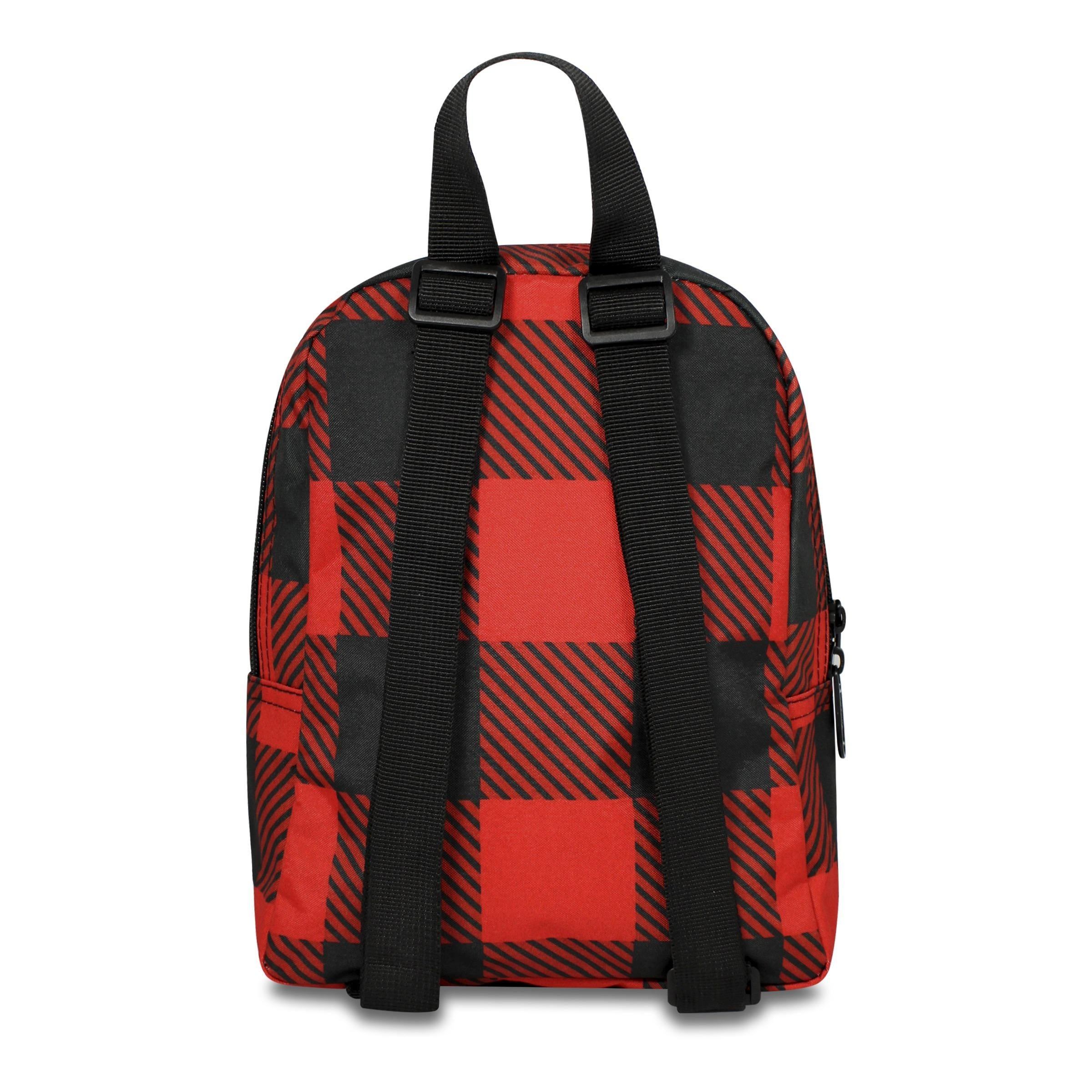 3136e51fa23 Dickies The Student Buffalo Plaid Backpack, Red Buffalo Plaid - one size