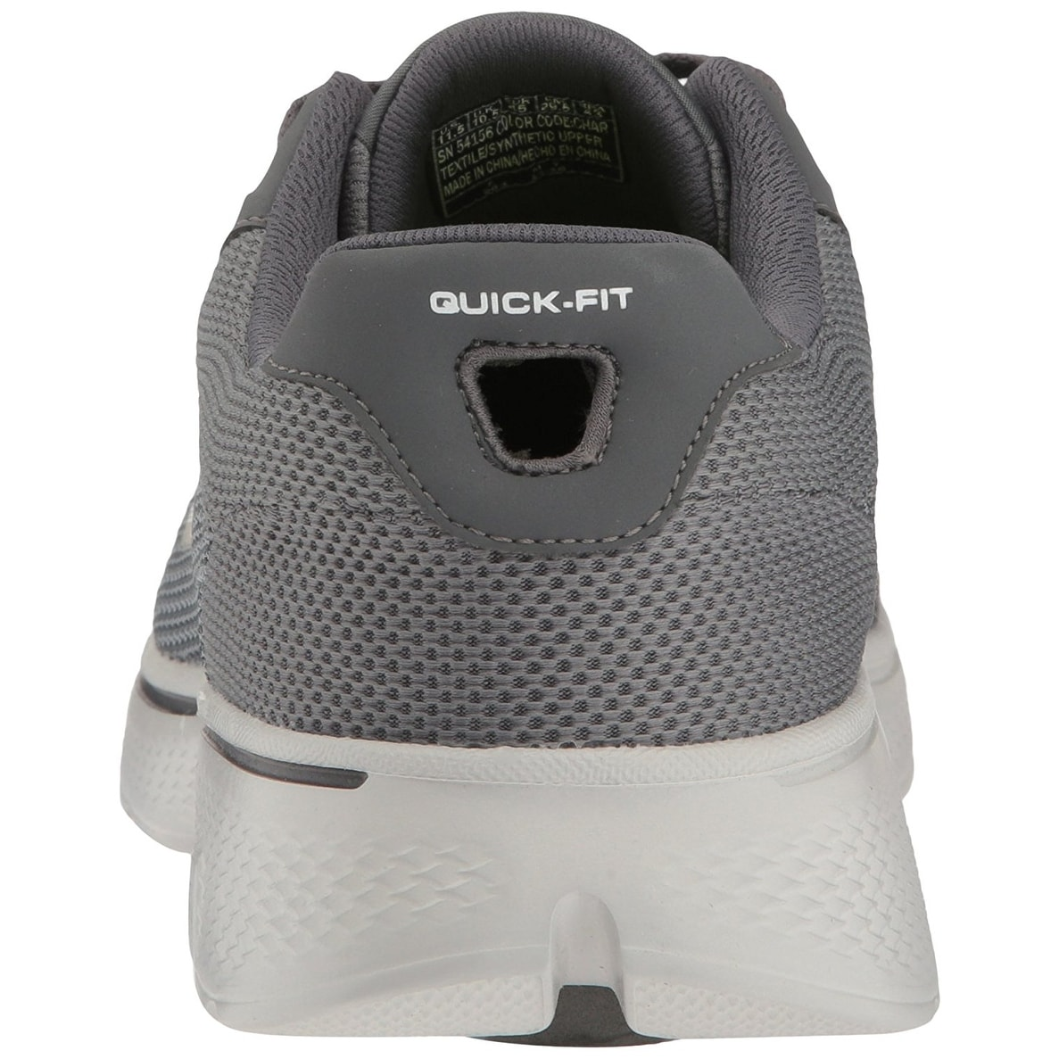 check out 50d86 1c311 Shop Skechers Performance Men s Go Walk 4 Noble Walking Shoe, Charcoal Mesh  - Free Shipping Today - Overstock - 18279928