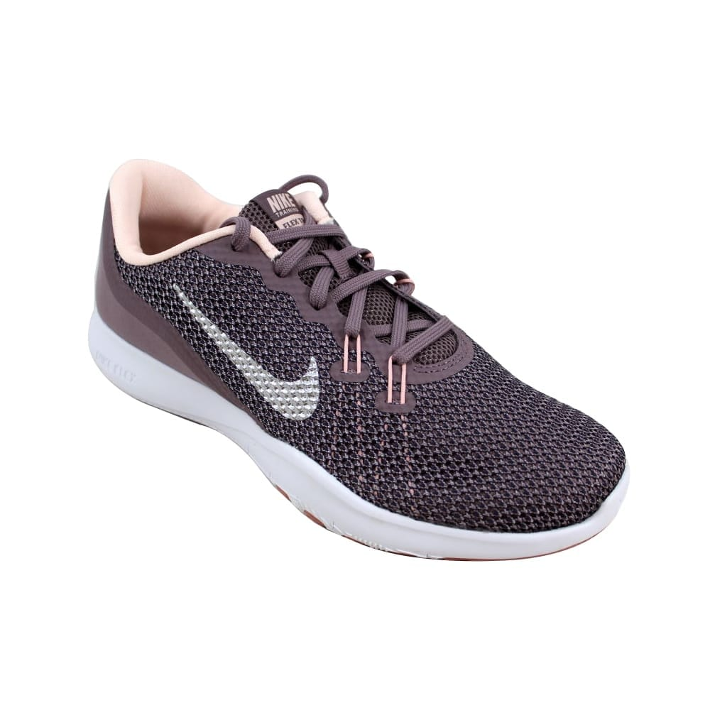 6334236ab61f0 Shop Nike Women s Flex Trainer 7 Bionic Taupe Grey Metallic Silver  917713-200 Size 8.5 - Free Shipping Today - Overstock - 23436863