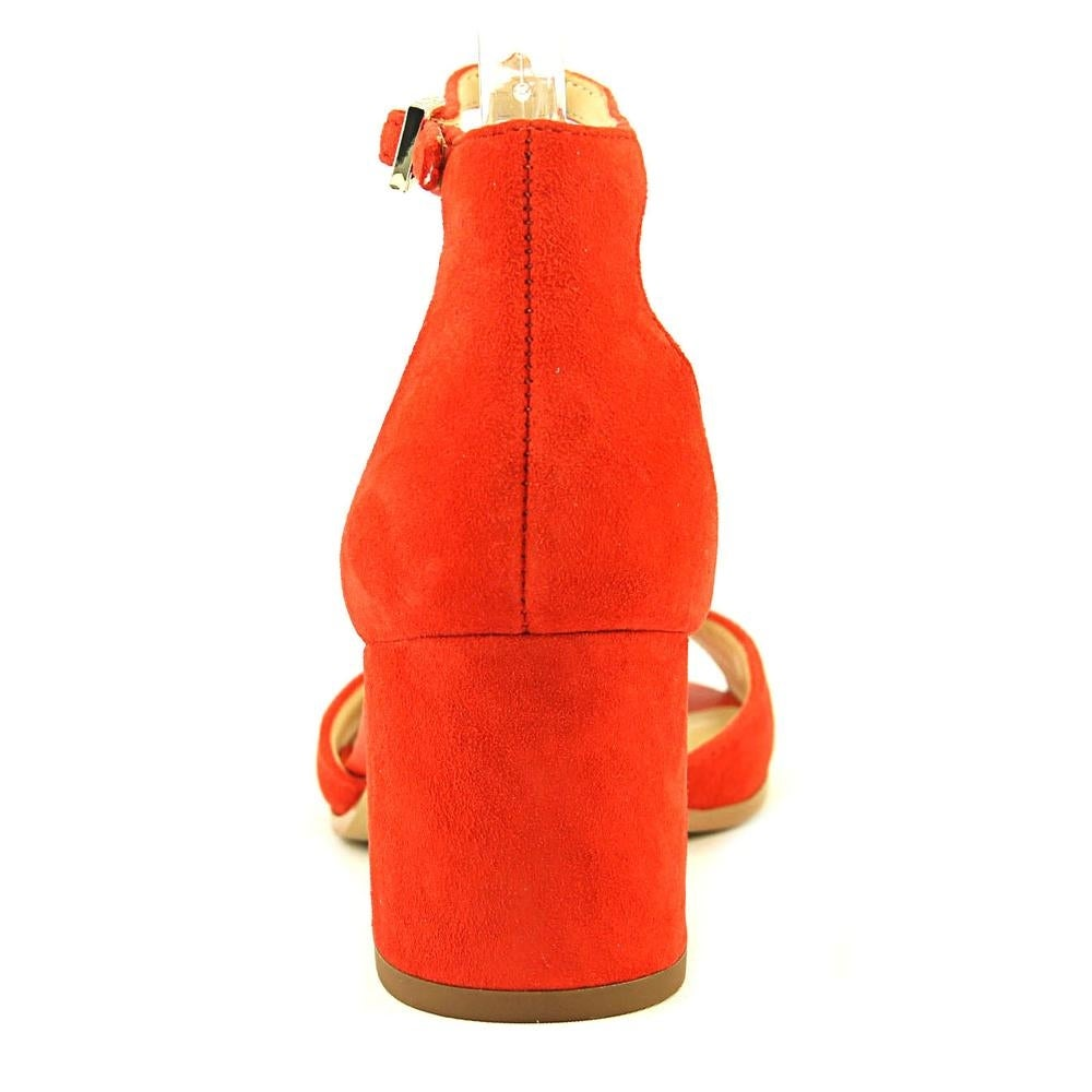 4e5abf4d3d4ce1 Shop Sam Edelman Susie Women Open Toe Suede Orange Sandals - Free Shipping  Today - Overstock - 19215087