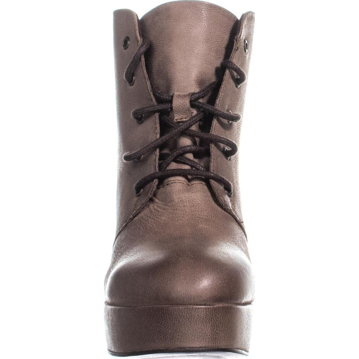 a0b59ab3537 Shop Steve Madden Raspy Lace-Up Platform Ankle Boots