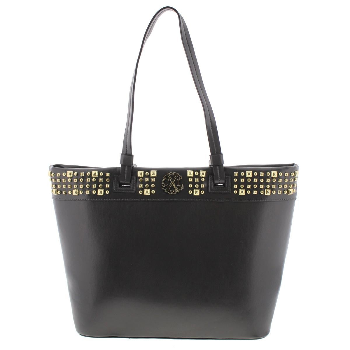 dff8396af485 CXL by Christian Lacroix Womens Nina Tote Handbag Faux Leather Sudded -  Large