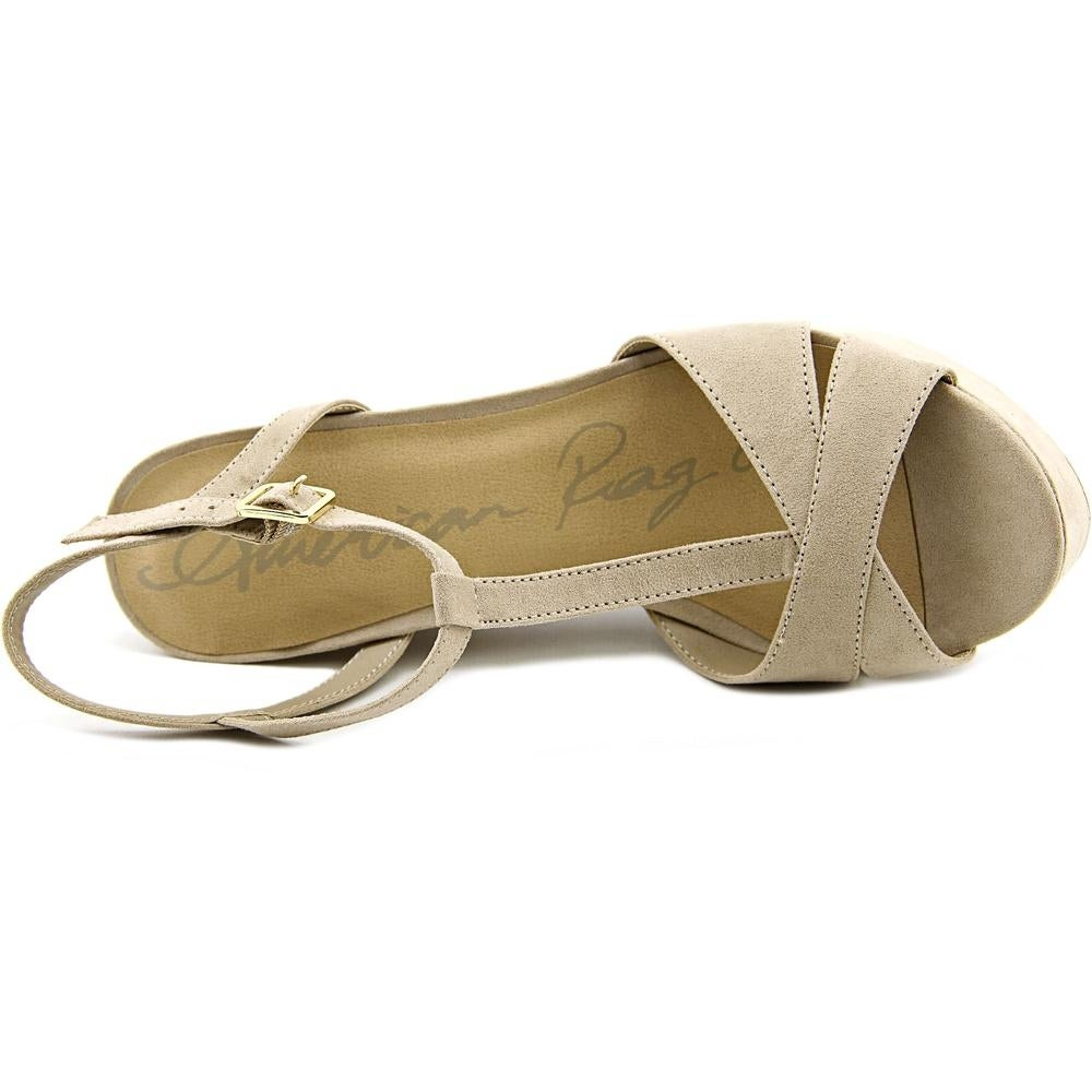 f2a10f02677 Shop American Rag Jamie Women Open Toe Synthetic Platform Sandal - Free  Shipping On Orders Over  45 - Overstock - 14791867