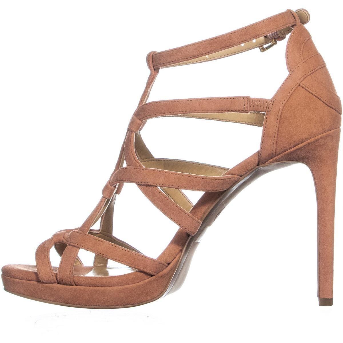 cd3558e9194 Shop Michael Kors Sandra Platform Strappy Stiletto Sandals