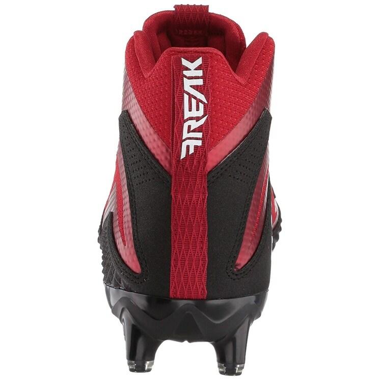 separation shoes e450c eadae Shop adidas Mens Freak X Carbon Mid Football Shoe - blackwhitepower red  - 17 - Free Shipping Today - Overstock.com - 22804364