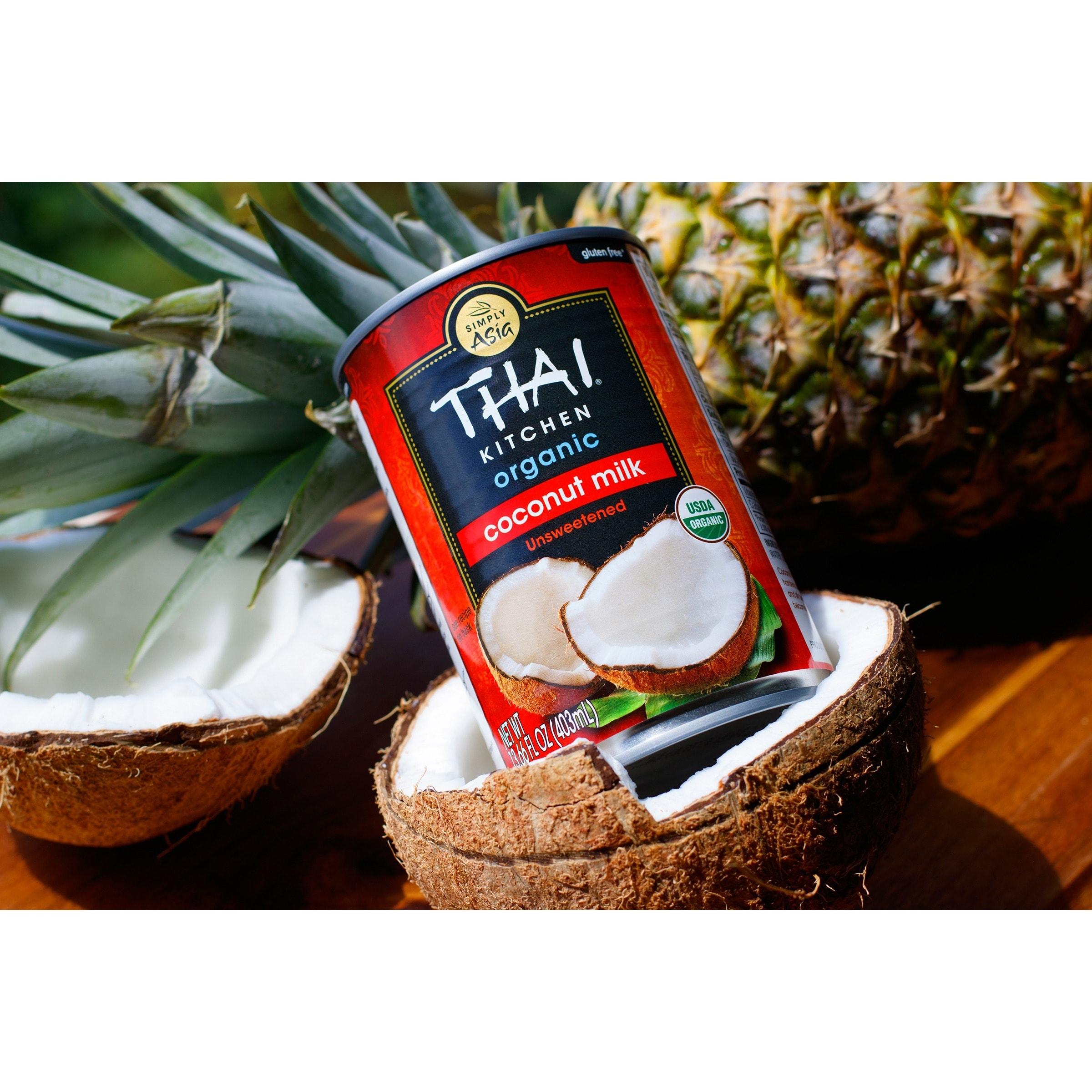 Pleasing Thai Kitchen Coconut Milk Case Of 12 13 66 Fl Oz Interior Design Ideas Clesiryabchikinfo