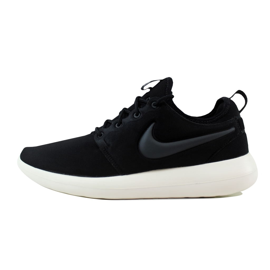 41d4a798670d Shop Nike Men s Roshe Two Black Anthracite-Sail 844656-003 - Free Shipping  Today - Overstock - 21141425