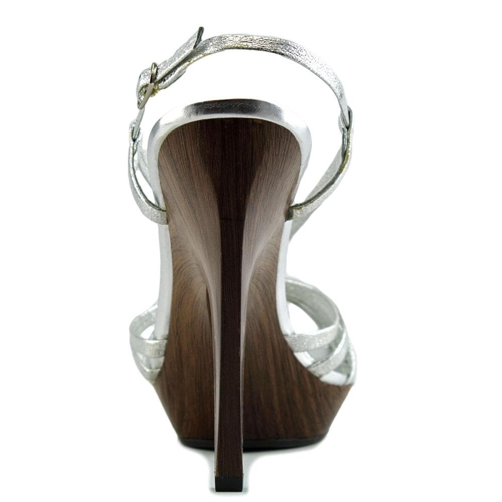 4ae8da7322c Shop Jessica Simpson Saturday Women Open Toe Synthetic Silver Platform  Sandal - Free Shipping On Orders Over  45 - Overstock.com - 15050388