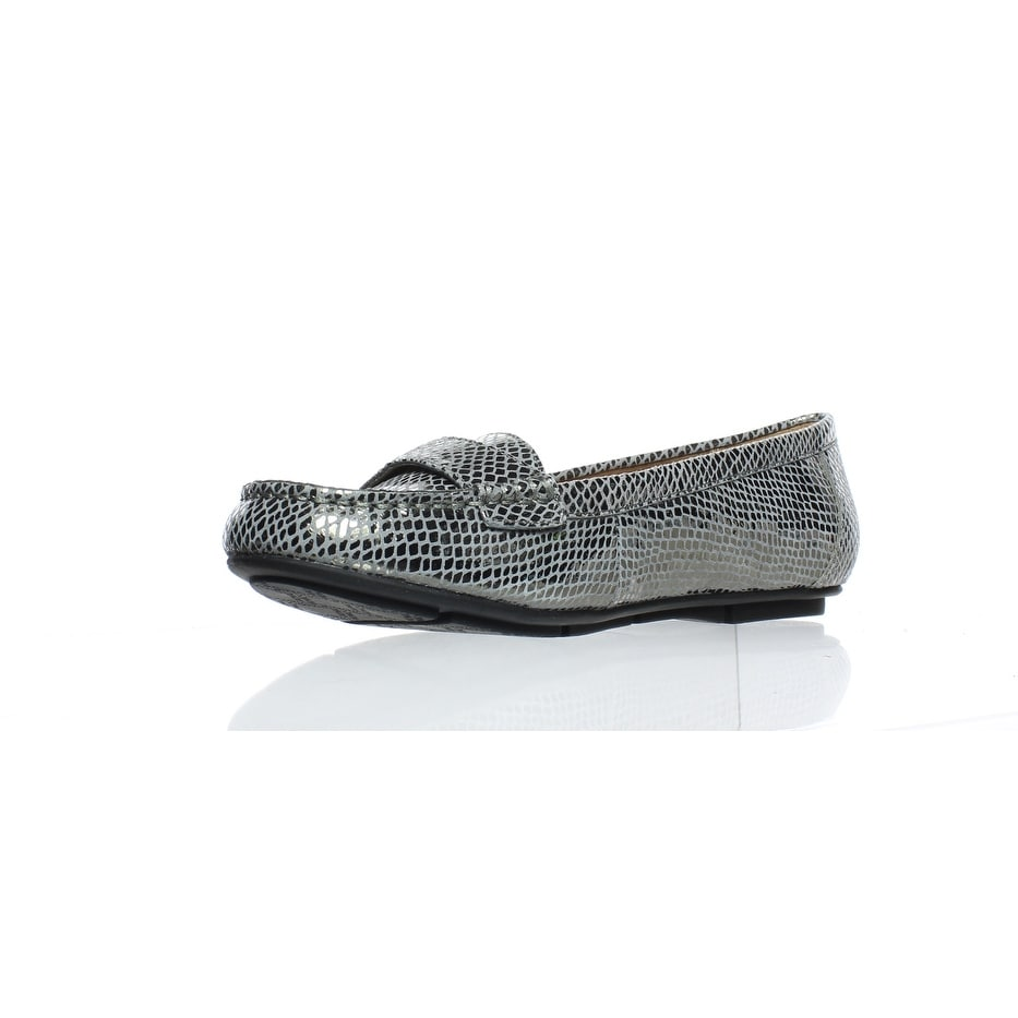 1520a22d39f0 Shop Vionic Womens Chill Larrun Gunmetal Snake Loafers Size 5 - Free  Shipping Today - Overstock - 24255045