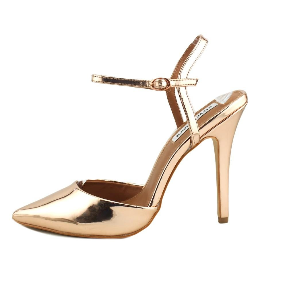 0a90343462d Shop Steve Madden Pizzel Women Pointed Toe Synthetic Gold Heels - Free  Shipping Today - Overstock - 20033134
