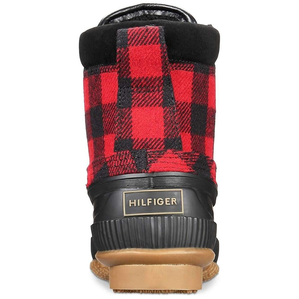 656e75a226b Tommy Hilfiger Mens Casey Rubber Round Toe Ankle Fashion Boots