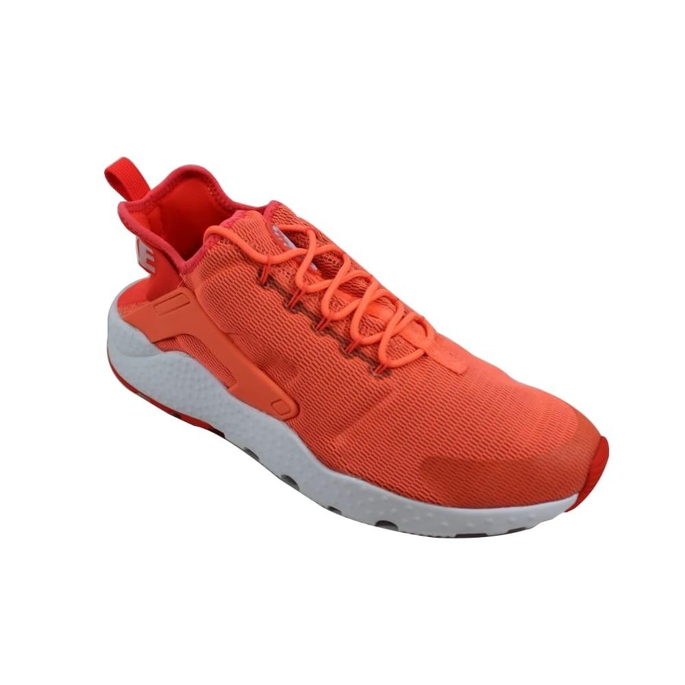 Shop Nike Women s Air Huarache Run Ultra Bright Mango White 819151-800 - On  Sale - Free Shipping Today - Overstock - 24122936 48ef7c4889