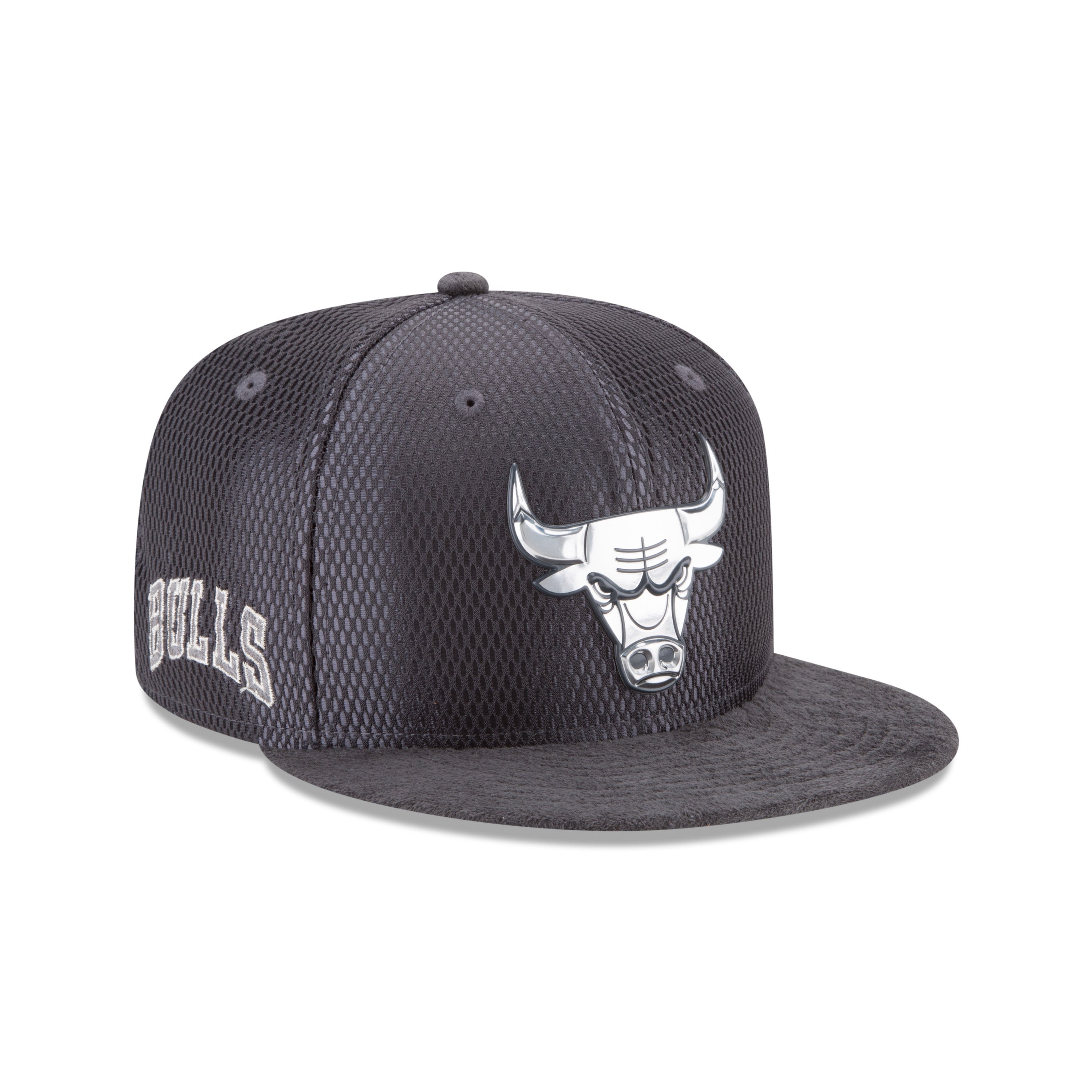 ee597948f0f Shop Chicago Bulls 2017 On Court 9FIFTY Grey Snapback Hat - Free Shipping  On Orders Over  45 - Overstock - 18682109
